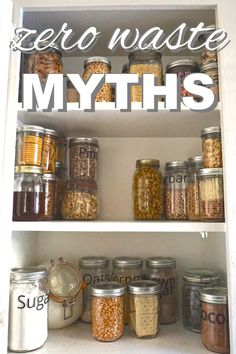 The zero waste lifestyle is becoming more and more popular; so, I wanted to talk about a few of the common myths. It Costs A Lot of Money: MYTH This one couldn't be further from the truth. You will be saving exponentially. Packaging, paper towels, tissues, all that stuff costs money and you're literally throwing it away. Packaging on average adds an additional 15% cost to any purchase. The zero waste lifestyle is focused on repairing an item instead of replacing it. Ins