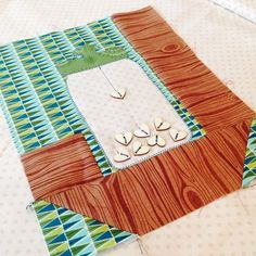 Jar quilt block: This could be modified into a cool fishing hook block, for the fisherman in your life...