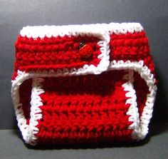 Crochet diaper cover - free pattern