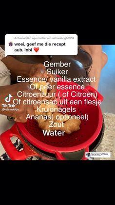 In deze tiktok video kan je zien hoe makkelijk het is om Surinaamse gemberbier te maken. #surinaamsegemberbier #gember Restaurant Recipes, No Bake Cake, Street Food, Om, Lunch, Beef, Baking, Pineapple, Meat