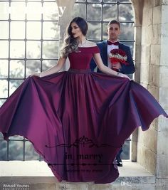 Sexy Off Shoulder Burgundy Long Prom Dresses 2017 A Line Plus Size Beaded Sash Cheap Simple Formal Evening Party Gowns Vestido De Festa Cheap Evening Dresses Off Shoulder Prom Dresses A Line Prom Dresses Online with $195.43/Piece on In_marry's Store | DHgate.com