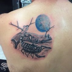 Realistic Scorpion tattoo did couple of days ago !!