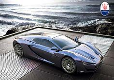 Maserati Bora Concept by Alexander Imnadze yankodesign.com