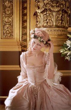Kirsten Dunst as Marie Antoinette by Sofia Coppola