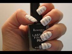 Decoracion de uñas mariposas - Butterfly nail art tutorial - YouTube