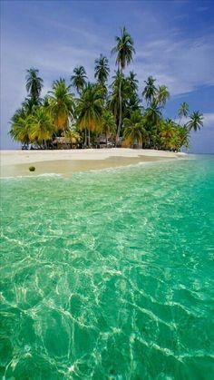 Isla San Blas Panamá.