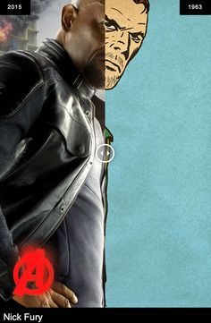 Avengers: Age of Ultron - Nick Fury (first appeared in Sgt. Fury and The Holwing Commandos #1, 1963) *