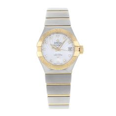 Omega Constellation 123.20.27.20.55.002 18K Yellow Gold & Steel Automatic Watch