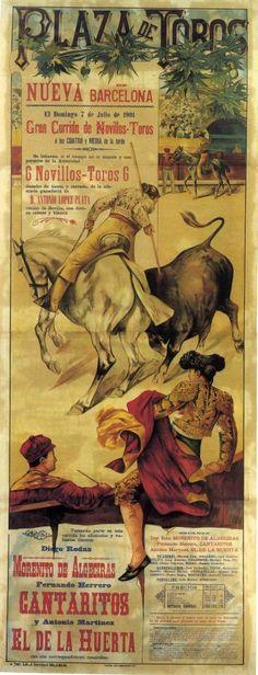 Cartel de corrida de toros