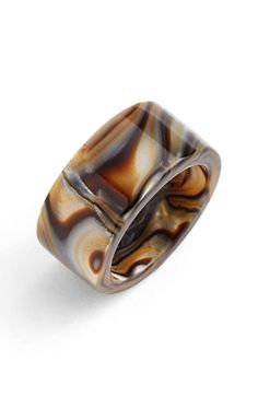 L. Erickson 'Stella' Ring available at #Nordstrom made from •Cellulose acetate -STUNNING!