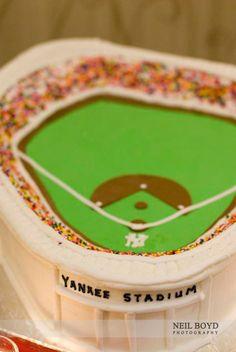 Groom's cake.  Yankee stadium cake.