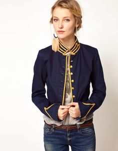 Image 1 of Denim & Supply By Ralph Lauren Military Jacket