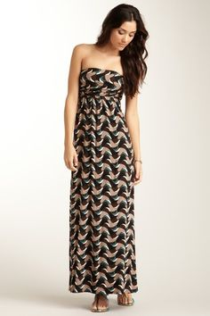 Tube Maxi Dress-Great cover up for summer