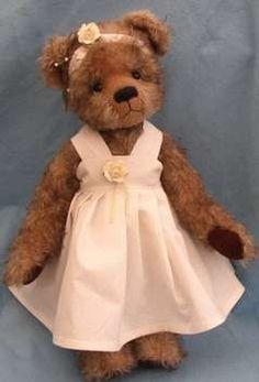 Henrietta Ooak Bear by By Ellie bears