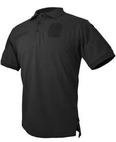 Hazard 4 Herren Loaded ID Centric Modular Patch Polo Shirt Schwarz size 3XL