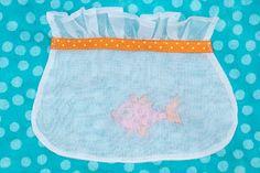 Sew Beautiful Blog: Organdy Fishbowl Pockets