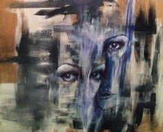 """experimental piece for """"gaze"""" series."""