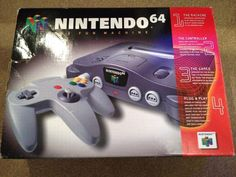 N64 console. they still have these in my old video game store!
