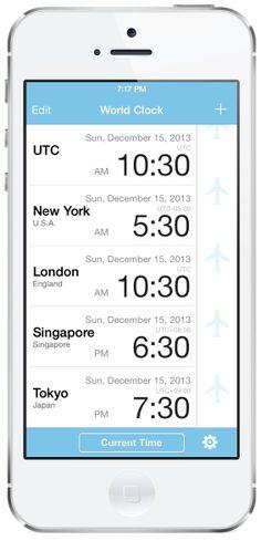 42件】World Clock-Time Difference Clock- |おすすめ画像| 2013