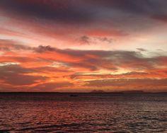 Another beautifull sunset on Bonaire.