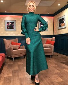 Russian Fashion, Feminine Style, High Neck Dress, Dresses With Sleeves, Long Sleeve, Turtleneck Dress, Full Sleeves, Gowns With Sleeves, High Neckline Dress