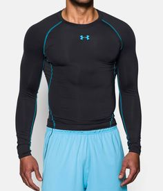 Shop Under Armour for Men's UA HeatGear® Armour Long Sleeve Compression  Shirt in our Mens