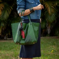 Nossa Bolsa Esmeralda Verde, Dervish Bags. Conheça aqui: www.dervishbags.com.br