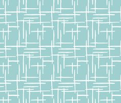 Abstract geometric raster checkered stripe stroke and lines trend pattern grid - surface design by Little Smilemakers Studio on Spoonflower - custom fabric and wallpaper inspiration for kids clothes fun fashion and trendy home decorations.