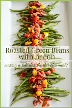 ROASTED GREEN BEANS WITH BACON... A MUST TRY! - StoneGable