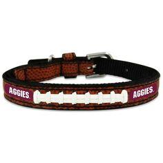 All Star Dogs Texas A/&M Aggies Ribbon Dog Collar