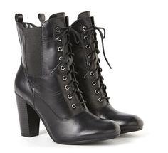 Liz Claiborne lace-up boots