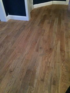 Most Popular red oak flooring cost atlanta for 2019 Hardwood Floor Stain Colors, Oak Hardwood Flooring, Red Oak Floors, Real Wood Floors, Flooring Ideas, Atlanta, Oak Stain, Weathered Oak, Wood