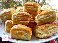 Croissant Bread, Winter Food, Tapas, Food To Make, Biscuits, Food And Drink, Appetizers, Sweets, Snacks