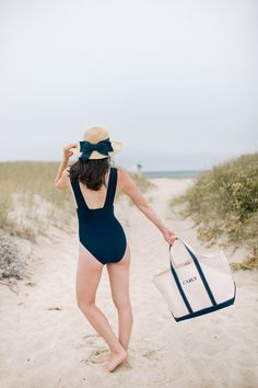 J. Crew One Piece Bathing Suit