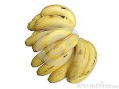 Bunch Of Banana Fruit Yellow Isolated Stock Photo - Image of delicious, banaanas: 101367414 Banana Recipes, Diet Recipes, Banana Fruit, Funny Things, Yellow, Image, Food, Funny Stuff, Fun Things