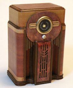 Antique Floor Radio Model