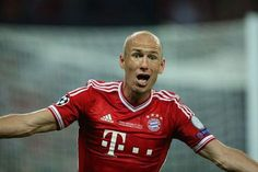 Arjen Robben won me over last year when he won the Champions League with a late goal!