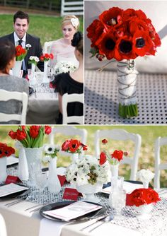 <3 Every Single Flower in this styled wedding shoot!