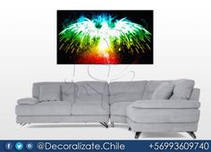 Fénix  Medidas: 150 cms de ancho por 85 cms de alto.  #decoralizate #chile #santiago #cuadros #abstract #art #abstractart #decoracion #abstracters_anonymous #abstract_buff #abstraction #instagood #creative #artsy #beautiful #photooftheday #abstracto #stayabstract #instaabstract