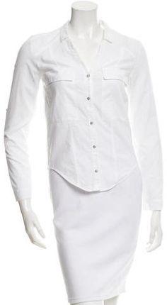 Helmut Lang Flannel Flap Pocket Top Helmut Lang, Flannel, Peplum Dress, Pocket, Stylish, Clothing, Tops, Dresses, Women