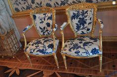 Catherine's palace interiors #chairs #stpetersburg