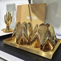Golden cuteness overload ✨ #gold #home #decor #tealightholder #candleholder #nordic #designforall #blossom
