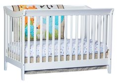 Stork Craft Giovanna 2 in 1 Fixed Side Convertible Crib, Cherry, Pack of 1: Amazon.ca: Baby