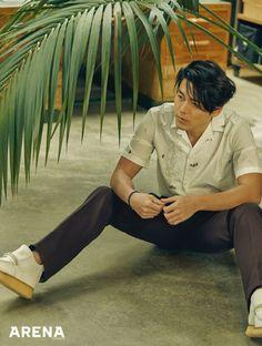 Hyun Bin on the Cover of Arena Homme Plus Korea April 2018 Hyun Bin, Lee Min Ho, In The Air Tonight, Ha Ji Won, Daddy Long, Lee Dong Wook, Korean Entertainment, Handsome Actors, Man Crush