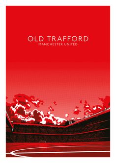Old Trafford (Manchester United) Art Print by IamBlonde Manchester United Wallpaper, Manchester United Football, Manchester Fc, Cr7 Messi, Lionel Messi, Pier Paolo Pasolini, Sports Graphic Design, Best Football Team, Football Art
