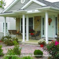 Front Porch Columns | Vinyl Porch Posts swing