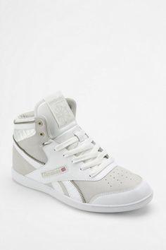 f2959fc1061808 Reebok Hightop Sneaker - Lyst White Reebok