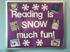 Reading is SNOW much fun! Our new display features some new snow & winter favorites.