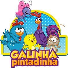 Galinha Pintadinha logo. X