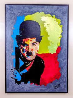 Charlie Chaplin 1 & 2, 170/120 cm X 2. acrylique sur toile, par l'artiste peintre laouina salah eddine. https://www.laouina.com/ https://www.facebook.com/artistsalaheddinelaouina https://www.facebook.com/salaheddinelaouina https://www.youtube.com/watch?v=VYJMOi88bXs https://www.youtube.com/watch?v=CmbFzsI6xMM  #moroccanartist #painter #artwork #painting #art #artiste #acrylic #artistepeintremarocain #peintre #marrakech #morocco #maroc #art #artist